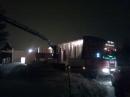 HusMontering kvällstid åt Meynard på EWB i Orsa Grönklitt.