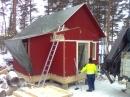 En liten stuga på ca 38 m2 Främby udde, Falun, Dalahus.