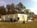 Två väggar uppe. Lappli-hus Kungälv.
